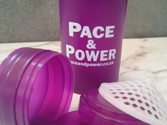 Pace & Power Shaker Bottle